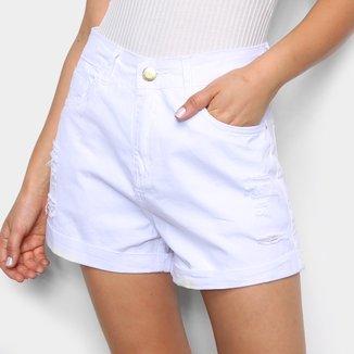 Shorts Sarja Ecxo Básico Feminino