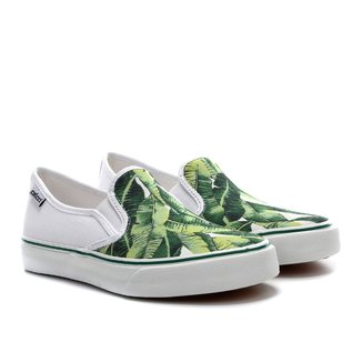 Slip On Colcci Mariana Tropical