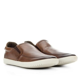 Slip On Couro Ferracini Lunar Plus Masculino