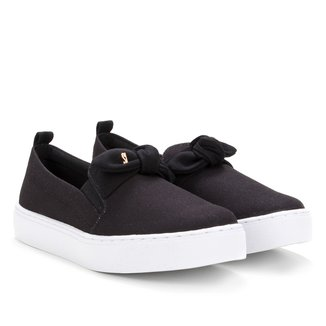 Slip On Santa Lolla Lona Feminino