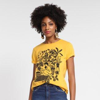 T-Shirt Cantão Classic Floresta Urbana Feminina