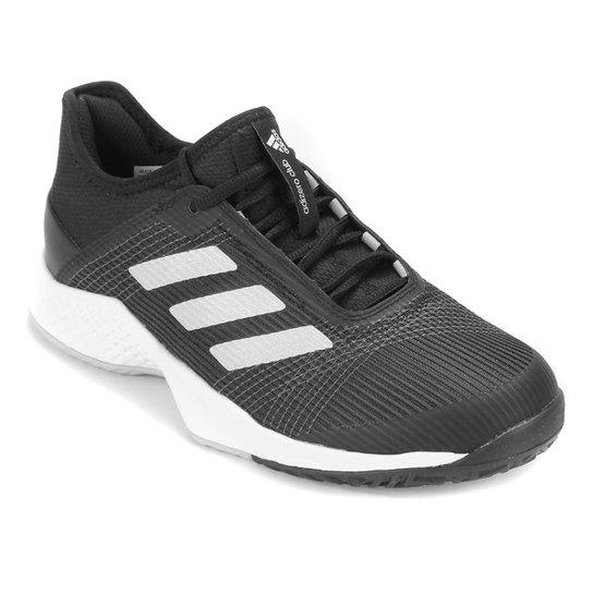 Tênis Adidas Adizero Club Masculino - Preto+Prata