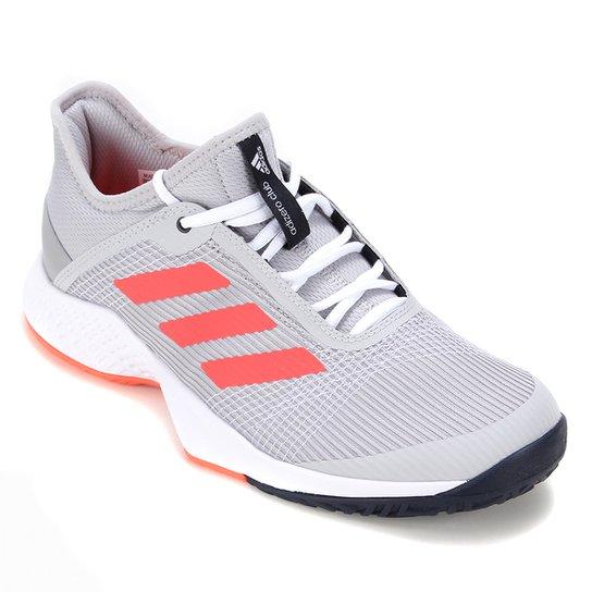 Tênis Adidas Adizero Club Masculino - Cinza+Vermelho