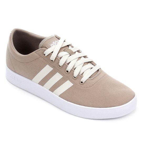 Tênis Adidas Easy Vulc 20 Masculino - Bege+Branco