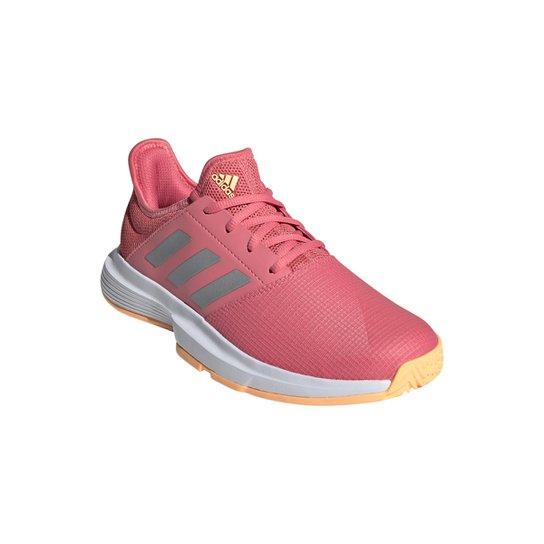 Tênis Adidas Gamecourt Feminino - Rosa+Preto