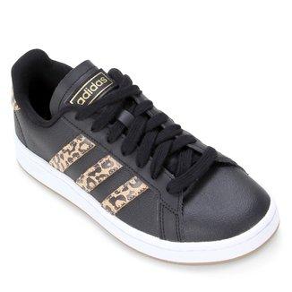 Tênis Adidas Grand Court Leopard Feminino
