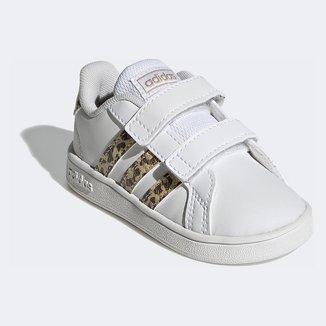 Tênis Adidas Grand Court Leopardo I