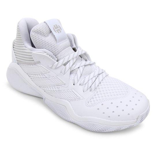 Tênis Adidas Harden Stepback Masculino - Branco+Cinza