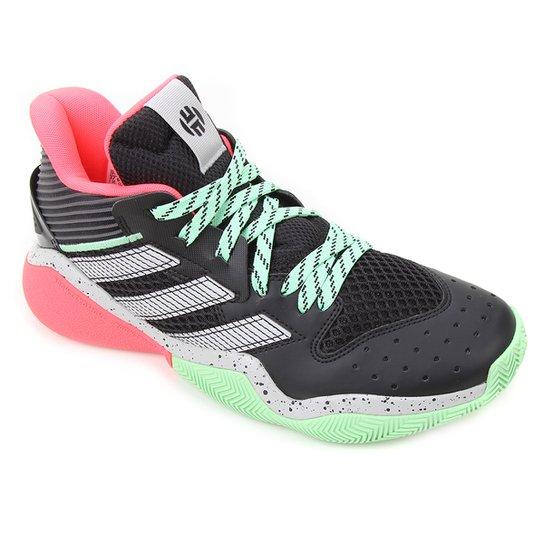 Tênis Adidas Harden Stepback Masculino - Preto+Cinza
