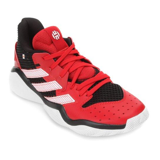 Tênis Adidas Harden Stepback Masculino - Vermelho+Preto