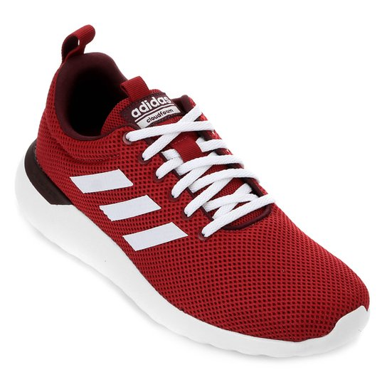 Tênis Adidas Lite Racer Cln Masculino - Vermelho+Branco