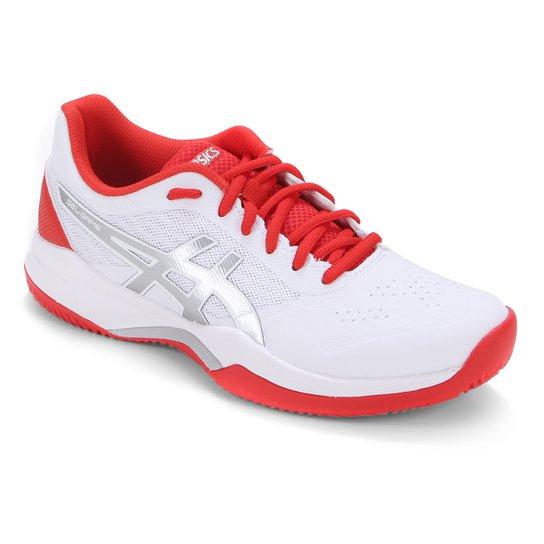 Tênis Asics Gel Game 7 Clay Feminino - Branco+Vermelho