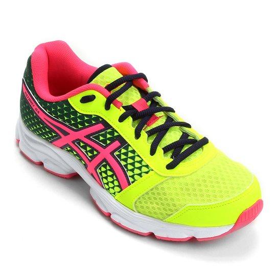 Tênis Asics Patriot 8 Feminino - Verde Limão+Pink