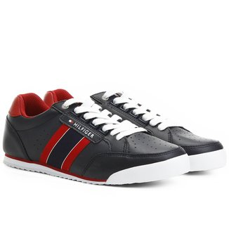 Tênis Couro Tommy Hilfiger Match Point Masculino