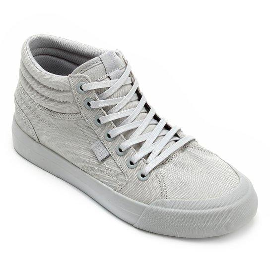 Tênis DC Shoes Evan Hi Tx Feminino - Cinza