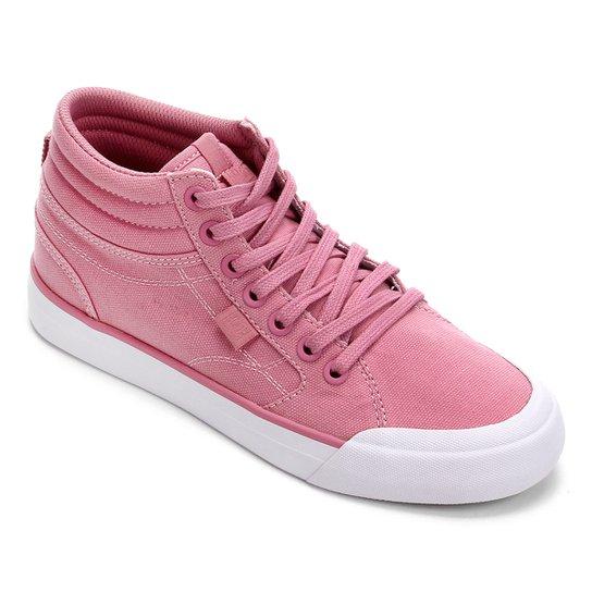 Tênis DC Shoes Evan Hi Tx Feminino - Pink