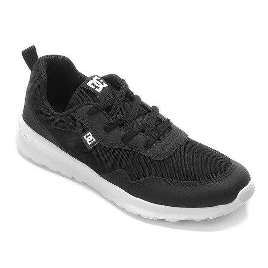Tênis DC Shoes Hartferd Masculino - Preto+Branco
