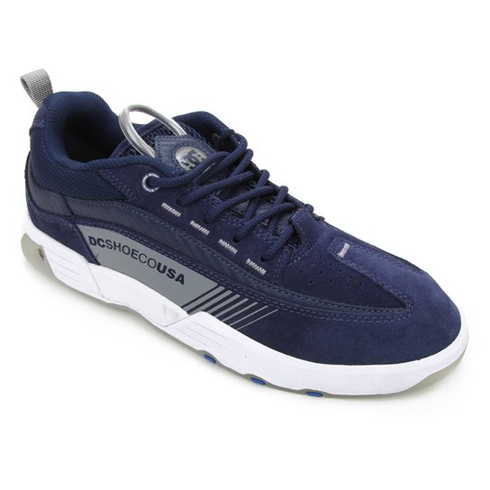 Tênis DC Shoes Legacy 98 Slim S Masculino - Marinho+Cinza