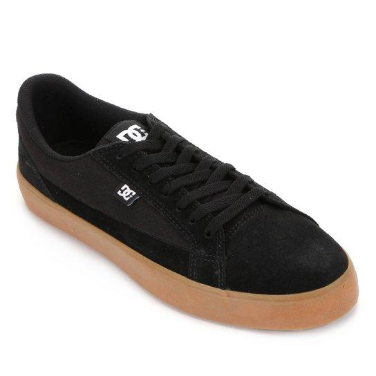 Tênis DC Shoes Lynnfield Masculino - Preto+Caramelo