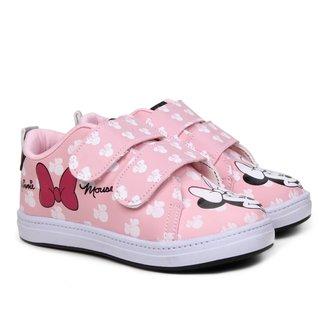Tênis Infantil Disney Minnie Fashion Feminino