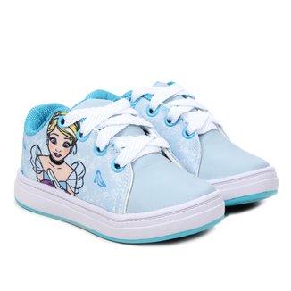Tênis Infantil Disney Princesa Ciderela Feminino