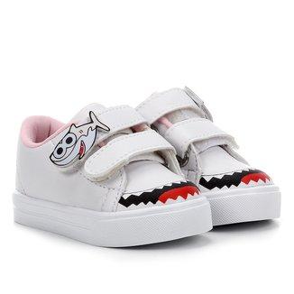 Tênis Infantil Kurz Coleção Fofinhos Velcros