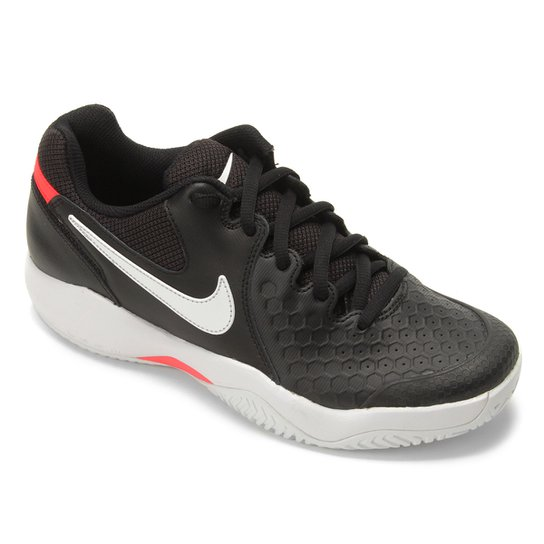 Tênis Nike Air Zoom Couro Resistance Masculino - Preto+Gelo