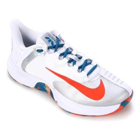 Tênis Nike Air Zoom GP Turbo Masculino - Branco+Laranja