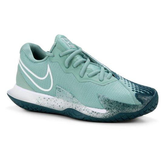 Tênis Nike Air Zoom Vapor Cage 4 HC Feminino - Verde+Branco