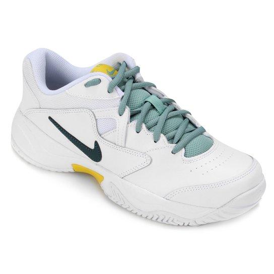 Tênis Nike Court Lite 2 Feminino - Branco+Verde