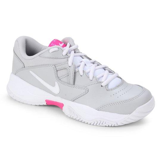 Tênis Nike Court Lite 2 Feminino - Cinza+Branco