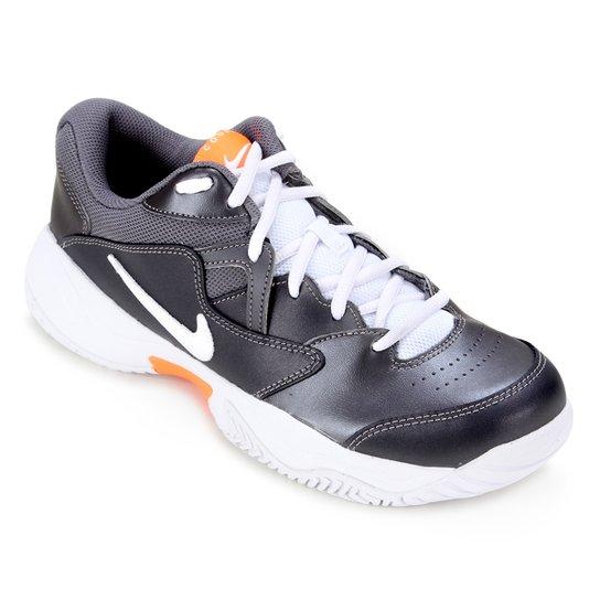 Tênis Nike Court Lite 2 Masculino - Cinza+Branco