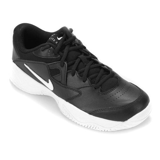 Tênis Nike Court Lite 2 Masculino - Preto+Gelo