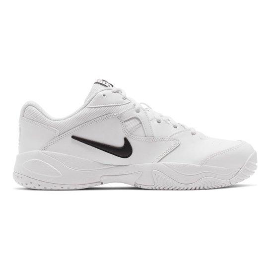 Tênis Nike Court Lite 2 Masculino - Branco+Preto