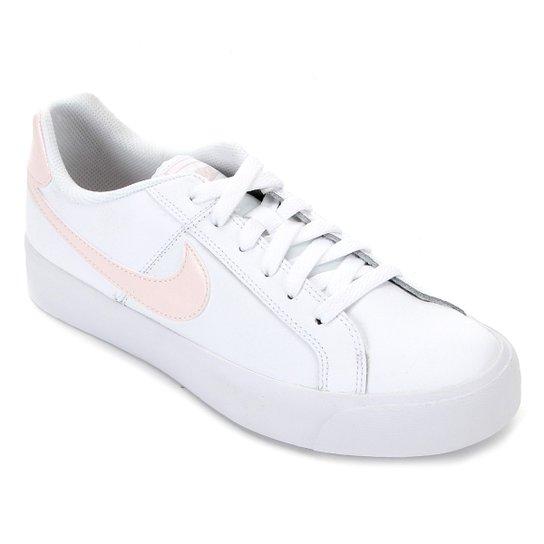 Tênis Nike Court Royale Feminino - Branco+Chumbo