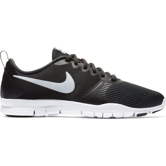Tênis Nike Flex Essential TR Feminino - Preto+Branco