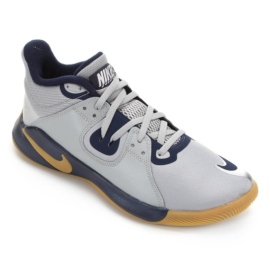 Tênis Nike Fly.By Mid Masculino - Cinza