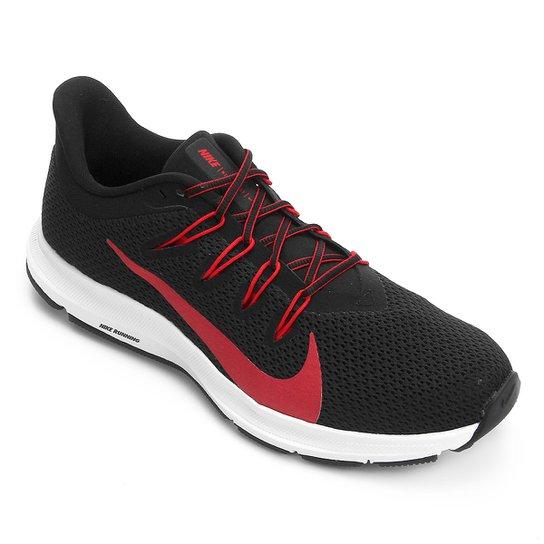 Tênis Nike Quest 2 Masculino - Preto+Vermelho