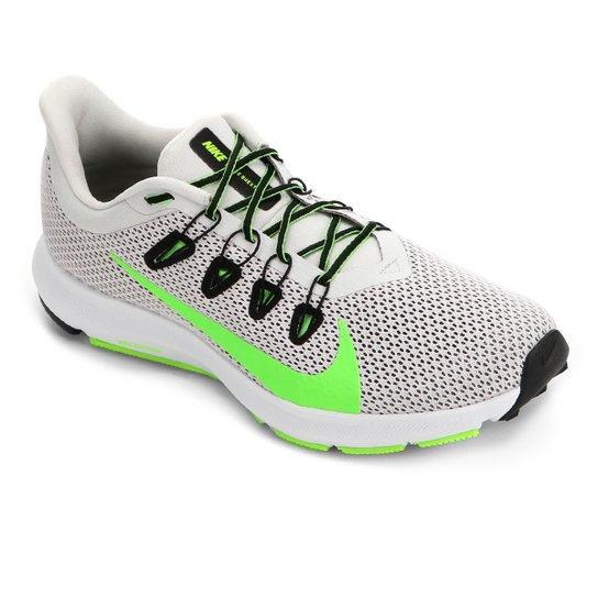 Tênis Nike Quest 2 Masculino - Cinza+Verde