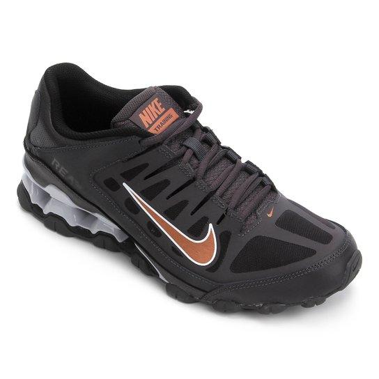 Tênis Nike Reax 8 TR Masculino - Preto+Cinza
