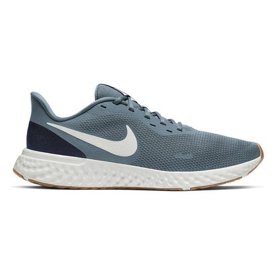 Tênis Nike Revolution 5 Masculino - Azul+Marinho