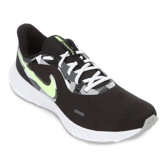 Tênis Nike Revolution 5 Masculino - Preto+Cinza
