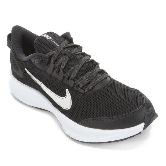 Tênis Nike Runallday 2 Masculino - Preto+Branco