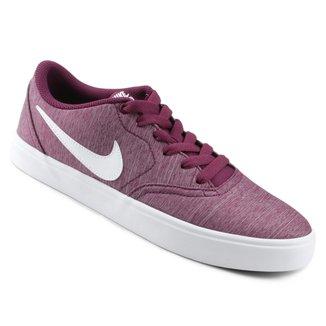 Tênis Nike SB Check Solar Cvs P Feminino