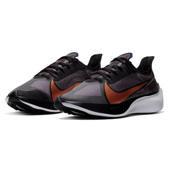 Tênis Nike Zoom Gravity Feminino - Preto+Chumbo