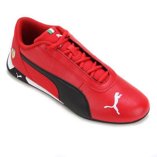 Tênis Puma Cat Ferrari - Vermelho+Preto