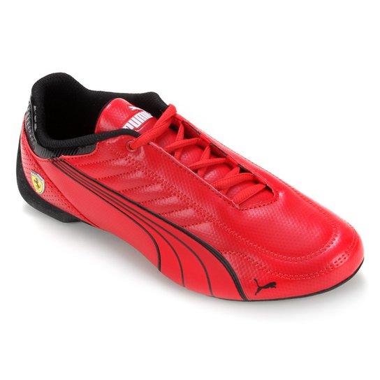 Tênis Puma Ferrari Race Future Kart Cat - Vermelho+Preto