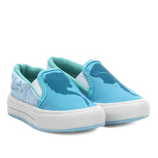 Tênis Slip On Infantil Disney Frozen