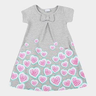 Vestido Bebê Elian Buboow Com Laço E Strass