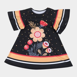 Vestido Bebê Nanai Floral Feminino